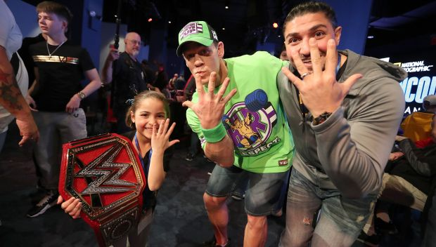 WWE Superstars bring smiles to faces during WrestleMania Week
