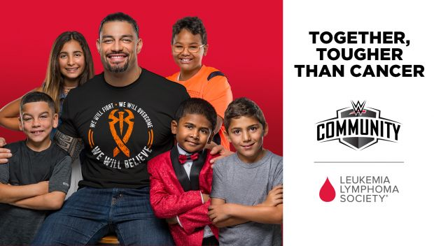 WWE partners with Leukemia & Lymphoma Society (LLS) to help cancer patients and families