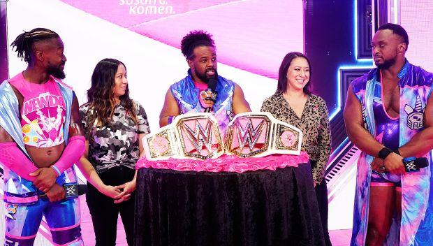Watch: WWE supports Susan G. Komen's Bold Goal