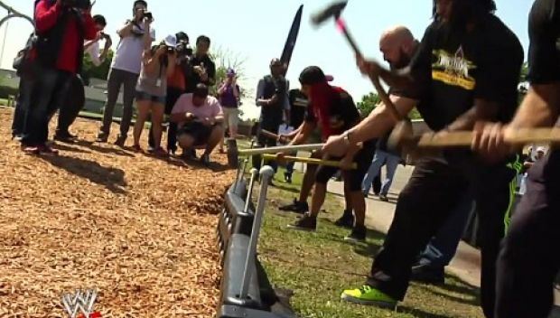 Watch: WWE and KaBOOM! build a WrestleMania-worthy playground in New Orleans