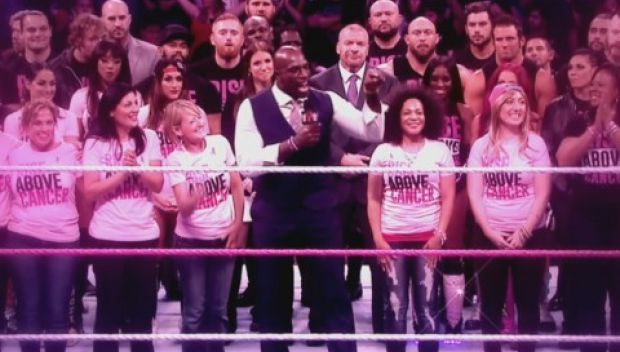 Watch: WWE supports Susan G. Komen