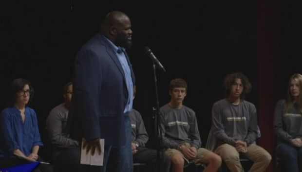 Mark Henry talks about bullying for USA Network's Characters Unite