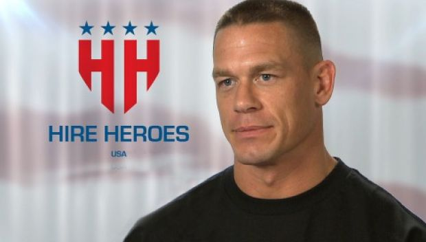 WWE supports Hire Heroes USA on Memorial Day