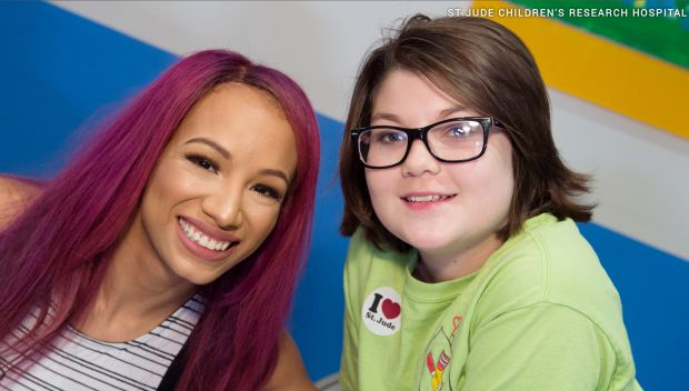 Watch: WWE visits St. Jude for Pediatric Cancer Awareness Month