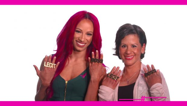 Videos: WWE and Susan G. Komen take action with the More Than Pink campaign
