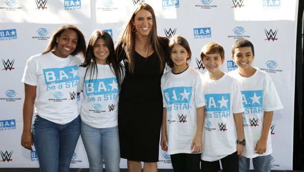 WWE and Boys & Girls Clubs of America celebrate Bullying Prevention Month