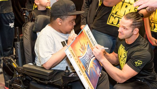 Make-A-Wish Florida kids are surprised with tickets to WrestleMania 33