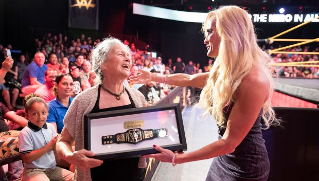 Watch: WWE celebrates everyday Hero Ruby Jibaja
