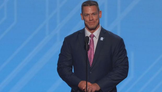 "John Cena presents Jarrius ""JJ"" Robertson the Jimmy V Award at the ESPYs"