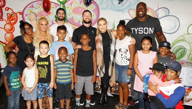 WWE Superstars bring smiles to The Brooklyn Hospital Center and The Children's Hospital at Montefiore