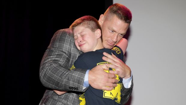 "John Cena and Nick ""The Stitch"" Santillo show the Power of a Wish through Make-A-Wish"