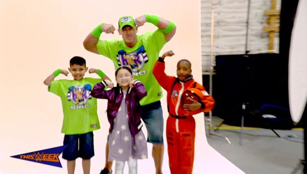John Cena is ready to celebrate a perfect World Wish Day 2018 with Make-A-Wish
