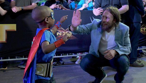 WWE Kid Superstar reveal at WrestleMania Axxess
