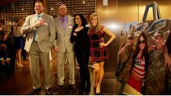 Jack Swagger, Goldust, Tamina Snuka and Lillian Garcia attend the Hire Heroes USA networking event to talk with veterans.