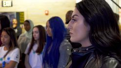 WWE Superstars and Girl Up learn about women's suffrage for Women's History Month