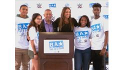 WWE and Boys & Girls Club of Miami-Dade host a Be a STAR rally