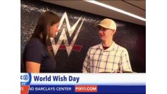 Colby's wish is granted at WWE Headquarters