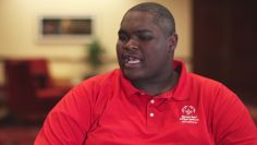 WWE honors JJ Jones: Special Olympics Celebrating Champions