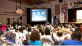 Children at the Boys & Girls Club in the Bronx, N.Y. are excited for the Be a STAR rally.