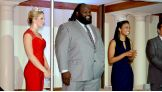 Mark Henry joins the 10th Annual Stars & Stripes event in Arlington, Va.