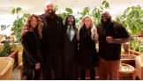 Alicia Fox, Big Show, R-Truth, Charlotte and Mark Henry prepare to meet U.S. service members serving overseas.