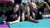 NXT Divas Peyton Royce, Liv Morgan and Dana Brooke meet the WWE Universe in Orlando, Fla.