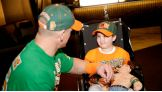 John Cena meets Joey, 8, and his family from Dover, N.J.