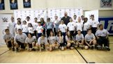 WWE's Big Show, Layla, Naomi, Renee Young and Stephanie McMahon attend a Special Olympics Southern California Unified Basketball Game.