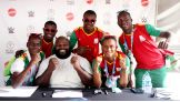 Mark Henry spends a second day at the 2015 Special Olympics World Games meeting athletes and their families and presenting medals.