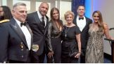 "39th Chief of Staff of the Army General Mark Milley with Paul ""Triple H"" Levesque, Stephanie McMahon, Linda McMahon, Cena and Nikki Bella."