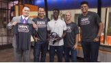 "On Monday, Cena; New York Yankees Alex Rodriguez, Brett Gardner and Dellin Betances; and Chris Singleton, a college student who lost his mother in the Charleston church shooting, meet on on NBC's ""Today."""