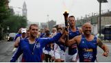 The Special Olympics Flame of Hope makes its way through New Jersey and the Philadelphia area.