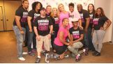 WWE hosts a reception for Susan G. Komen honorees and breast cancer survivors in Dallas.