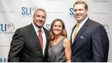 Triple H joins U.S. soccer legend Brandi Chastain and Chris Nowinski at the 2014 Sports Legacy Institute Awards.