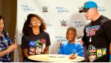 "John Cena is featured on ESPN SportsCenter's ""My Wish"" series with Make-A-Wish's KJ."
