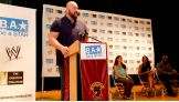 Big Show urged the kids not to be bystanders when they see someone being bullied.