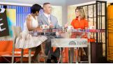 Cena joins co-hosts Tamron Hall and Natalie Morales during the 9 a.m. ET hour of the morning show.