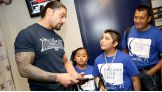 Roman Reigns meets Christian, age 12, of Dreams Come True.