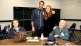 "CM Punk meets Bonnie and David ""Leeroy"" Altman."