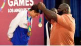 Mark Henry visits the Special Olympics World Games.