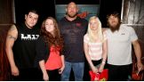 The winner and her friend are thrilled to also meet Daniel Bryan.