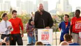 Big Show is a Unified Relay Co-Captain and Special Olympics Goodwill Ambassador for the 2015 World Games.