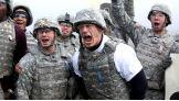 John Cena joins U.S. Troops at Joint Base Lewis-McChord in Washington.