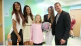 WWE brings smiles to kids' faces during their visit to St. Jude Children's Research Hospital in Memphis, Tenn.