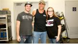 James and Ashlee get to meet WWE Hall of Famer Shawn Michaels!
