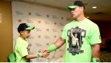 After meeting Cena, William got to witness Cena's victory to become WWE World Heavyweight Champion at Money in the Bank!