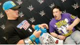 United States Champion John Cena meets Clifton, 18, before WWE Payback in Baltimore.