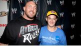 Ryback stops by to say hello to Jeffrey.