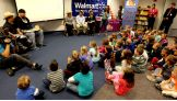 WWE Superstars Brodus Clay and Hornswoggle host a Reading Celebration at Dresden Elementary School.