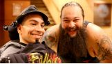 Bray Wyatt grants his first wish to Jovanni of Marty Lyons Foundation.